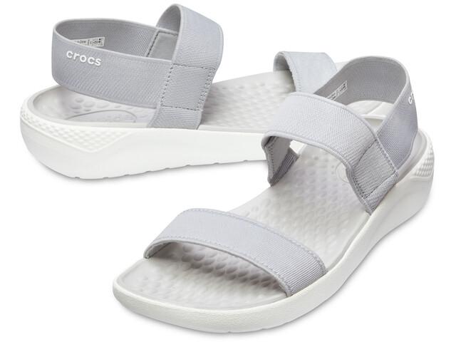 Crocs LiteRide - Sandales Femme - gris